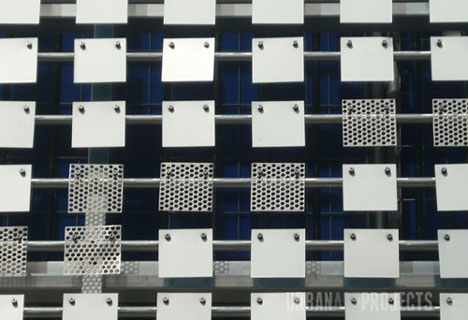Another Wave in the Wall: Vertical Lake Building Facade