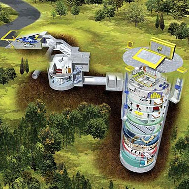 Nuclear Family Housing: Life In a Real Missile Silo Home ...