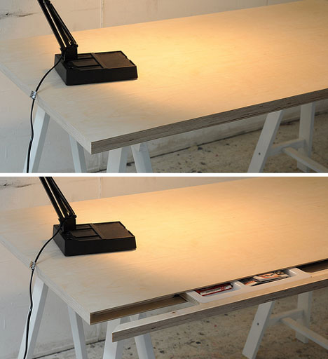 But One Of The Most Impressive Hiding Places Is The Simple Desk That Hides  A Thin Pull Out Segment. The Part That Pulls Out Bears No Handle Or Other  ...