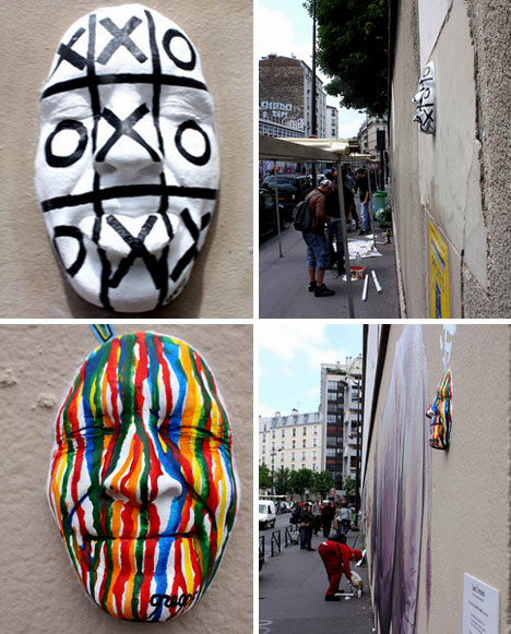 Epic Gregos u fun and strange art project has created a wonderfully weird kind of scavenger hunt in the streets of the City of Lights Tourists who know about the