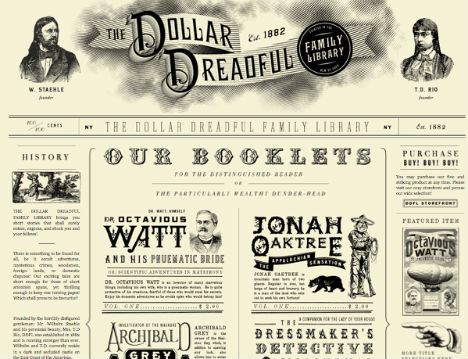 Sample Vintage Newspaper Templates