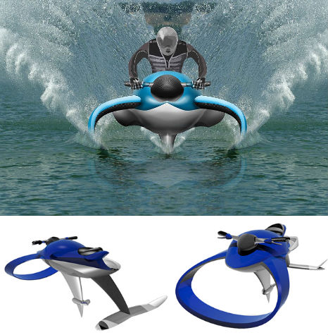 Fluid Designs: 12 (More) Water Vehicles to Float Your Boat ...