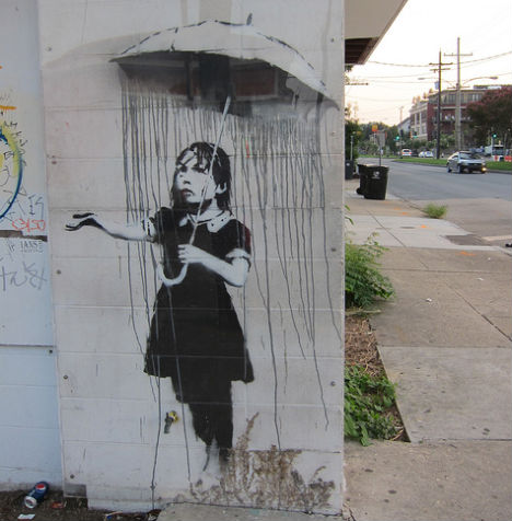 Banksy vs. The Gray Ghost in New Orleans