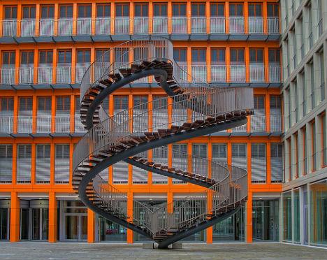 Olafur Eliassonu0027s Courtyard Stairway