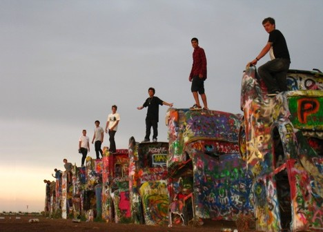 Paint Your Wagons: The Many Colors Of Cadillac Ranch ...