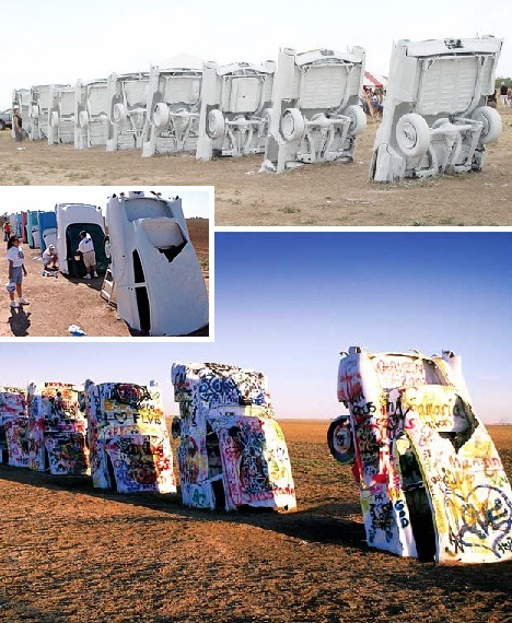 Paint Your Wagons The Many Colors Of Cadillac Ranch