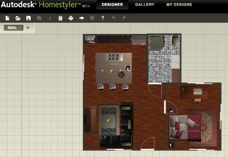 Autodesk Homestyler Designer