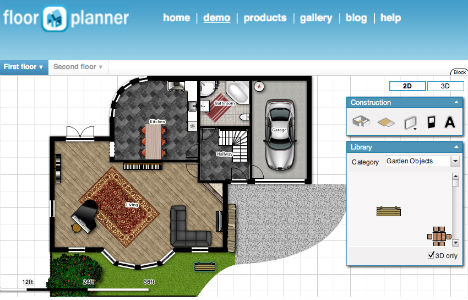 Tenere al caldo in casa free online 3d bathroom design tool for Free online 3d room planner