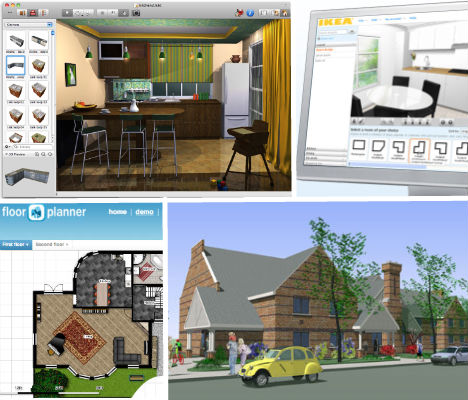 Diy digital design 10 tools to model dream homes rooms for Digital house design