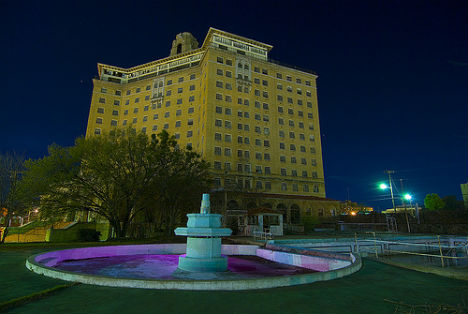 While not the tallest building on the list, the Baker Hotel is definitely