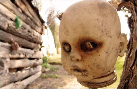 isola delle bambole luoghi più spaventosi al mondo