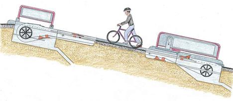 Bicycle Escalator 4