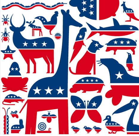 political party history Top 10 usa political party logos  selling a nation: political logos  in the center is a man who appears to be one of the patriots from american history,.