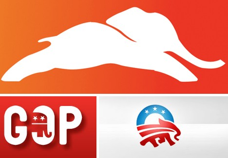 Political Animal The Ever Evolving Republican Elephant Logo Urbanist