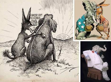 Political Animal: The Ever-Evolving Republican Elephant Logo ...