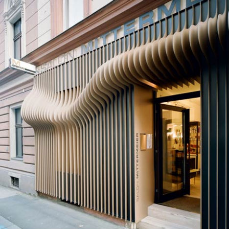 slick storefronts 12 cool clever retail facades urbanist - Storefront Design Ideas