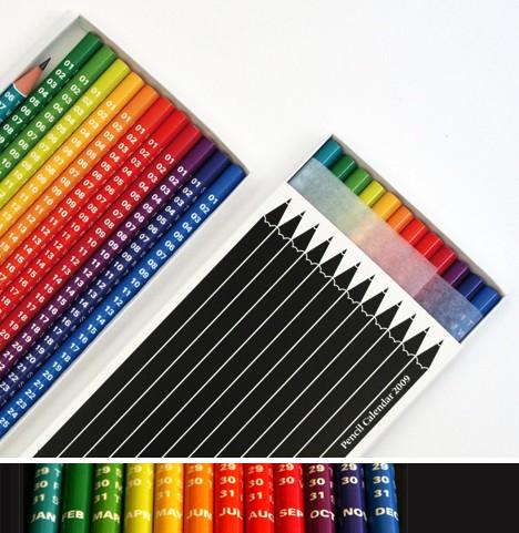 Следите за своим расписанием с помощью карандашного календаря, созданного британским агентством Mytton Williams...