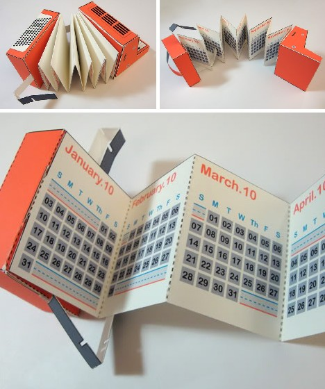 Unusual Calendar Design : Time for a change cool creative calendar designs