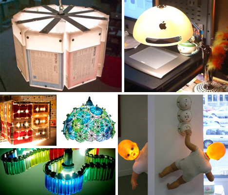 Creative ideas for making things from waste material for Waste product craft