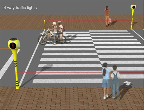 Stop Look And Love 8 Redesigns Of Classic Traffic Lights