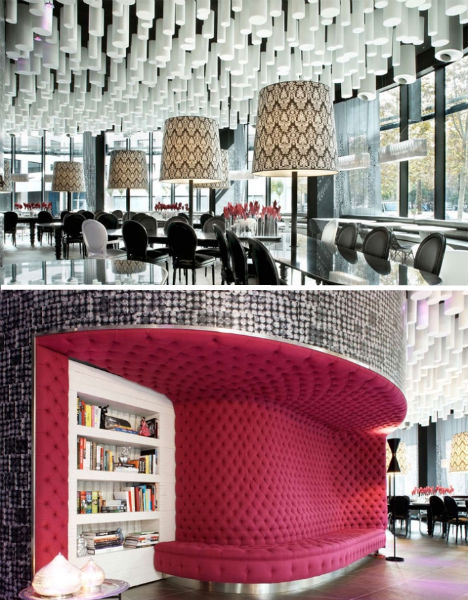 Mod 007 to dreamy decoupage 12 more artsy hotel rooms for Design hotels spain