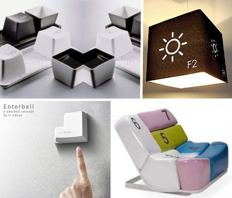 Compure Home Decor : Digital Decor: 12 Geeky Computer-Inspired Home Designs  Urbanist