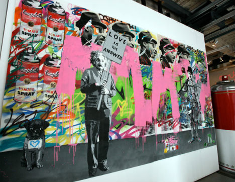 Banksy Film Subject Mr. Brainwash Boggles Art World
