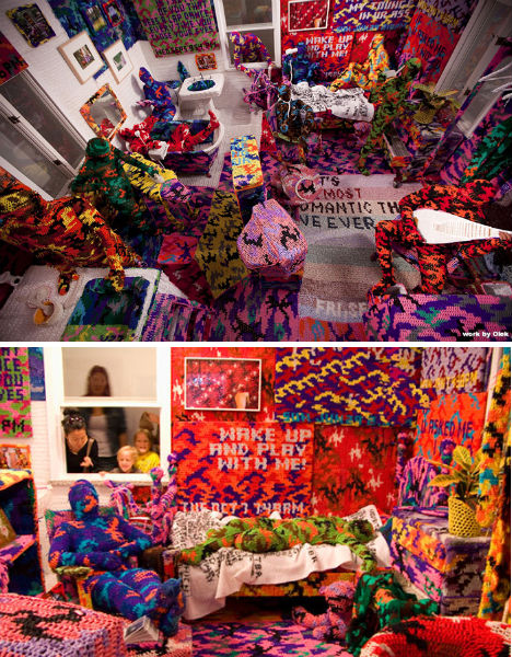Don't Call it Knitting: Olek's Crazy Crocheted World