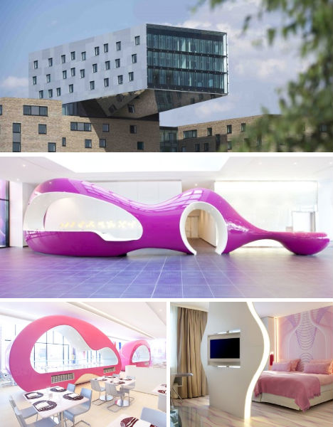 germany s coolest hotels from kitschy to ultramodern. Black Bedroom Furniture Sets. Home Design Ideas