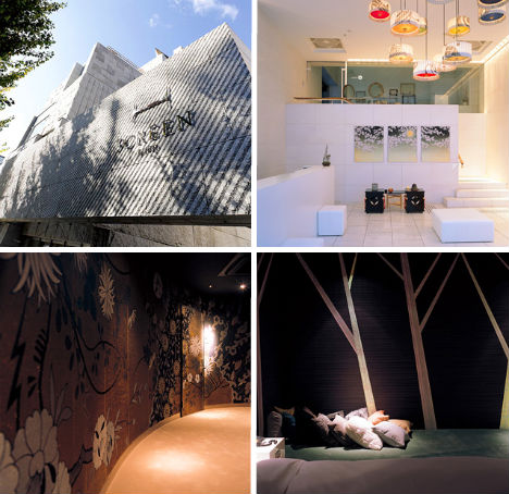 Unique boutique 13 of japan s most strangely stylish for Design hotel japan