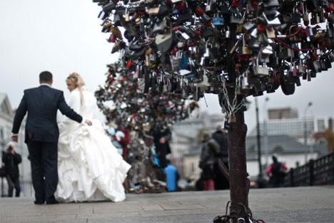 Locks of Love: Urban Padlock Monuments to Commitment