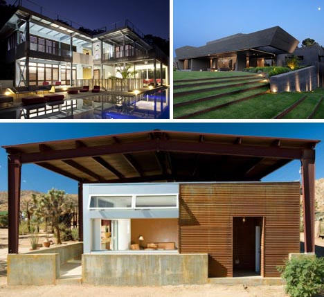 Stylish and sustainable 8 modern eco friendly homes for Environmentally sustainable house plans