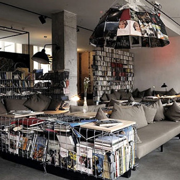 germany s coolest hotels from kitschy to ultramodern urbanist. Black Bedroom Furniture Sets. Home Design Ideas