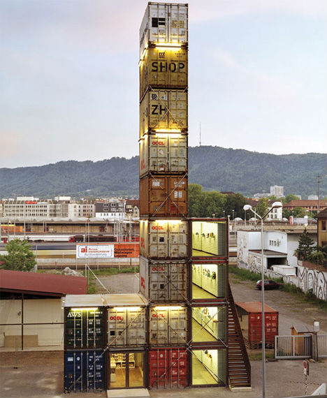 Shipping Container Bag Shop: Cargotecture: 13 Massive Container Architecture Projects