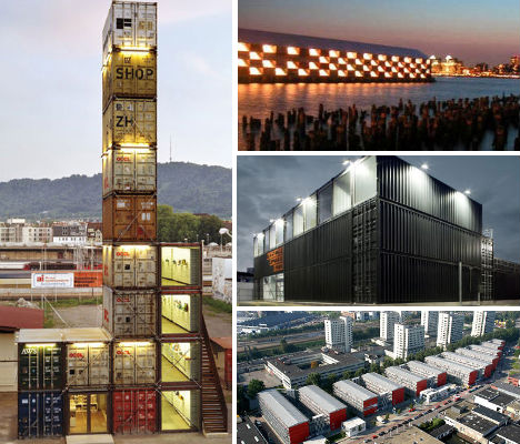 Cargotecture 13 massive container architecture projects for Architecture container