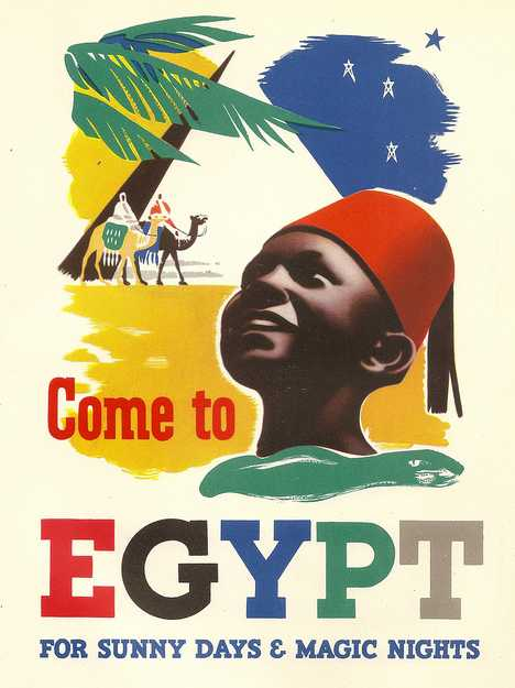 In De Nile Revisiting Vintage Egypt Travel Posters Urbanist