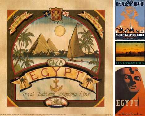 In De Nile: Revisiting Vintage Egypt Travel Posters