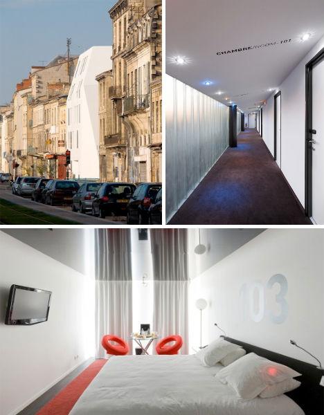 12 fun funky france hotels from paris to bordeaux urbanist - Hotel seekoo bordeaux ...