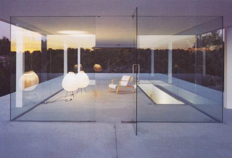 10 wonderful open plan home designs for Minimalist underground house