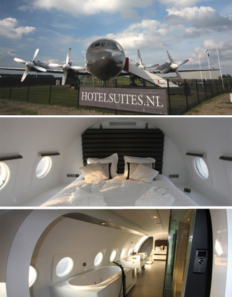 Airplane hotel teuge
