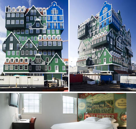 Punk to posh 14 quirky artsy elegant netherlands for Quirky hotels