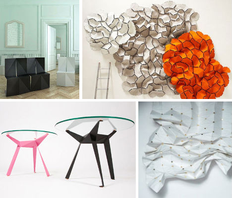 Unfolding Interior Design: Origami-Inspired Furniture ... - photo#6