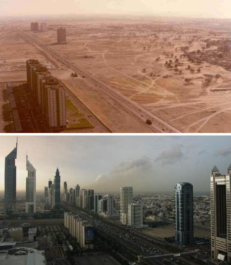 Then & Now: The Stunning Speed of Urban Development | Urbanist