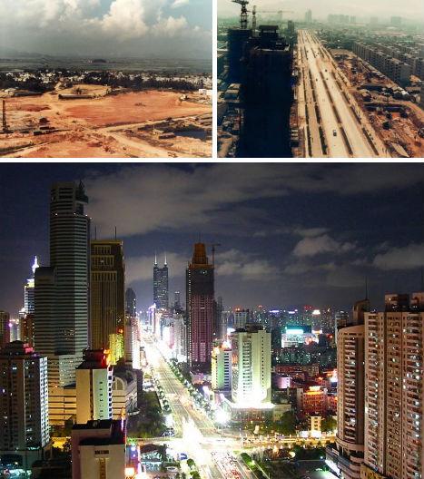 ciudades antes y despues