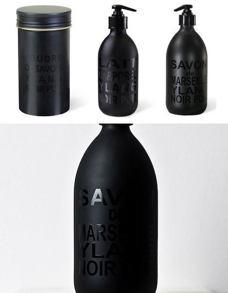 16 Simply Stunning All Black Packaging Designs Urbanist