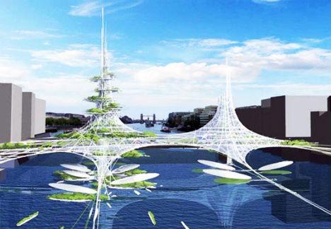 Stylish Skyways 13 Boldly Futuristic Bridge Concepts