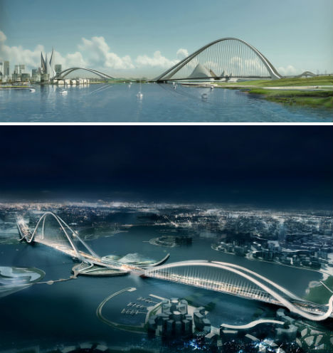 Stylish Skyways 13 Boldly Futuristic Bridge Concepts Urbanist