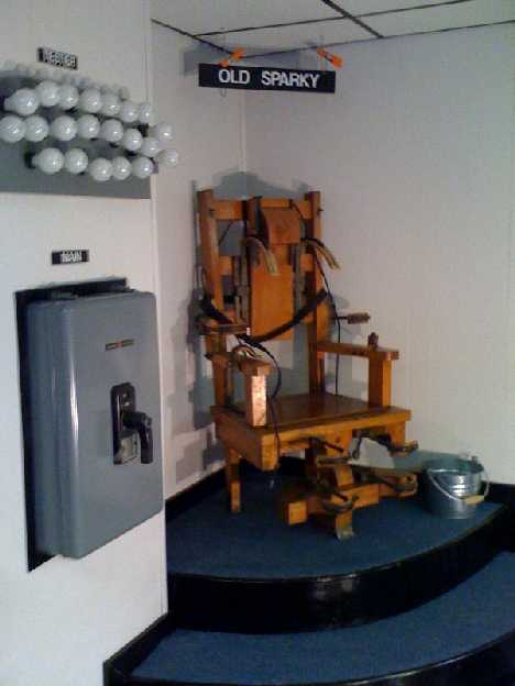 (image ... & Old Sparky: The Shocking History Of The Electric Chair | Urbanist