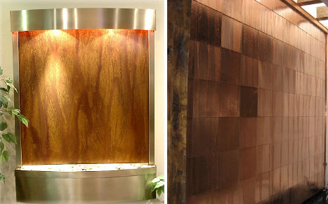 Contemporary Indoor Water Fountains