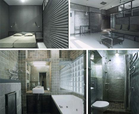 Spaces that shine steel copper in interior design for Modern industrial interior design